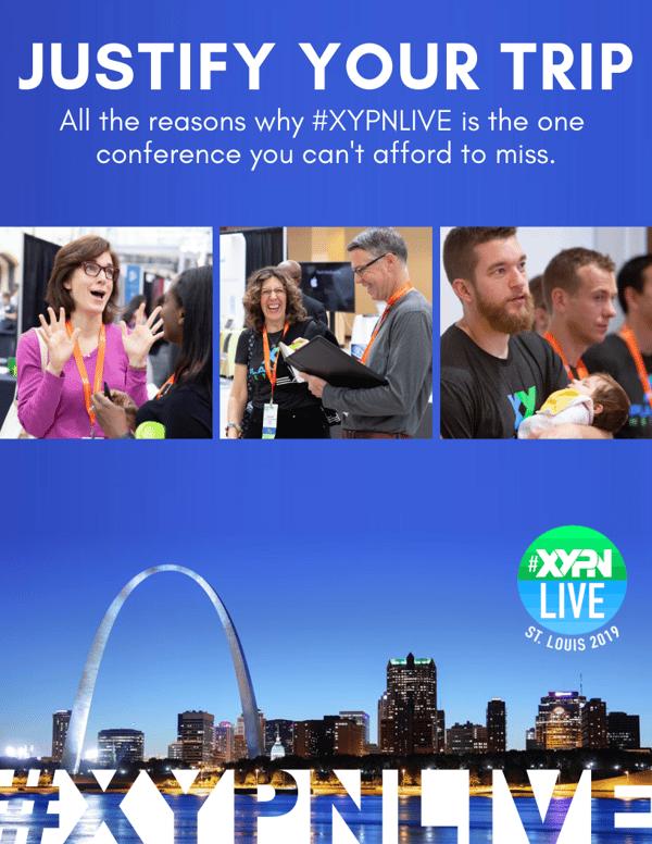#XYPNLIVE Justify My Trip