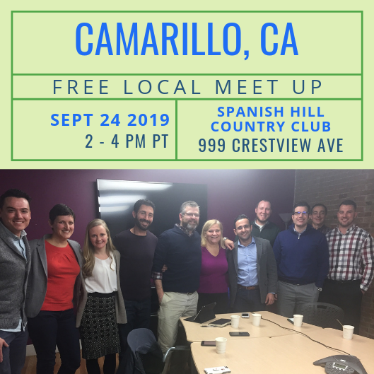 FREE Local Meet-Up: Camarillo, CA