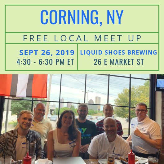 FREE Local Meet-Up: Corning, NY