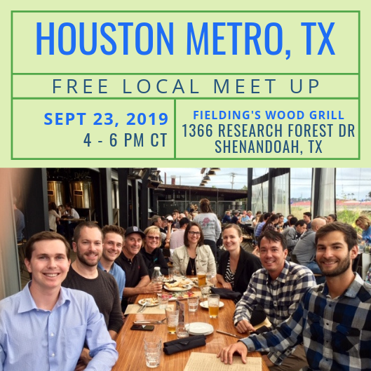FREE Local Meet-Up: Houston Metro Area, TX