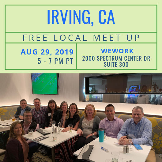 FREE Local Meet-Up: Irvine