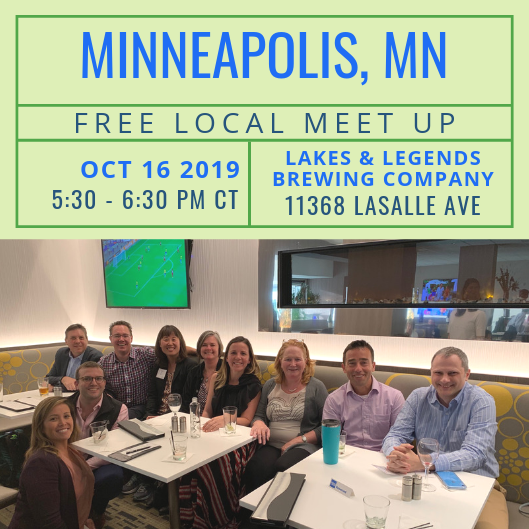 FREE Local Meet-Up: Minneapolis, MN