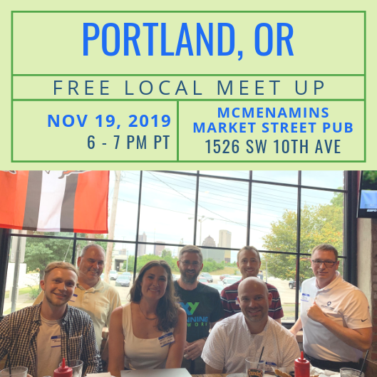 FREE Local Meet-Up: Portland, OR