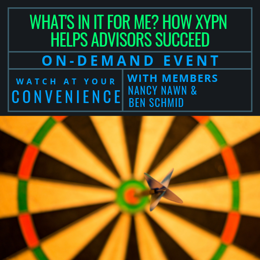 Free Recording: How XYPN Helps Advisors Succeed