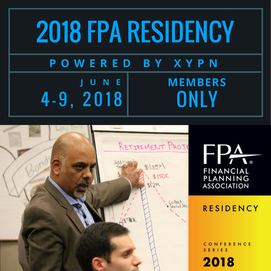 FPA Residency 2018- Powered by XYPN