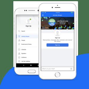 #XYPNLIVE Mobile App
