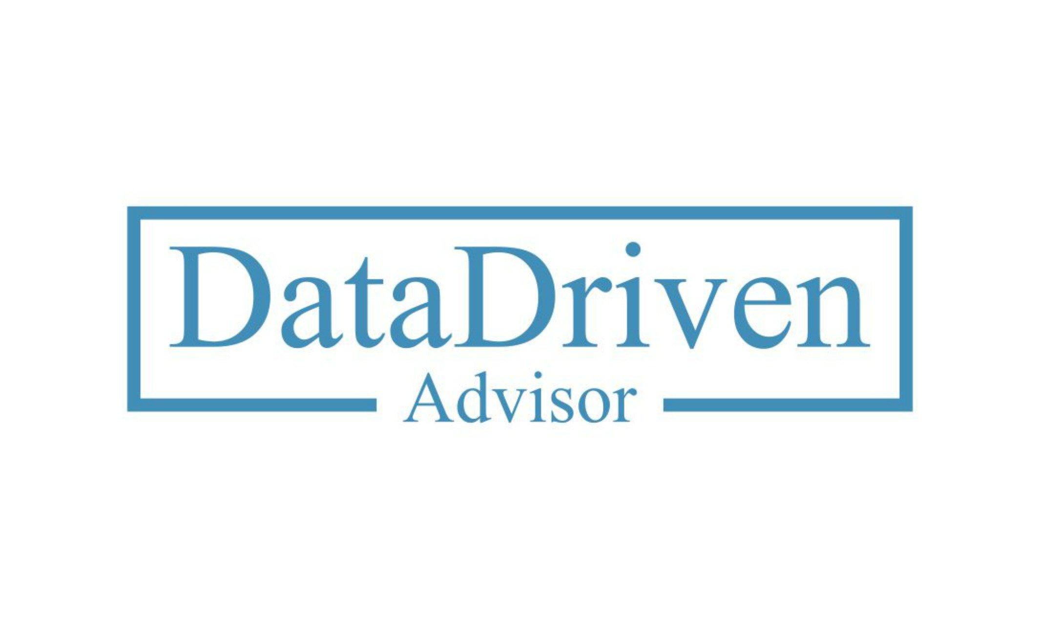 Data Driven Advisor