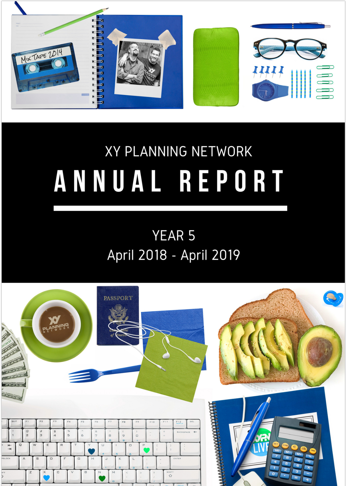 Year 5 Annual Report Cover