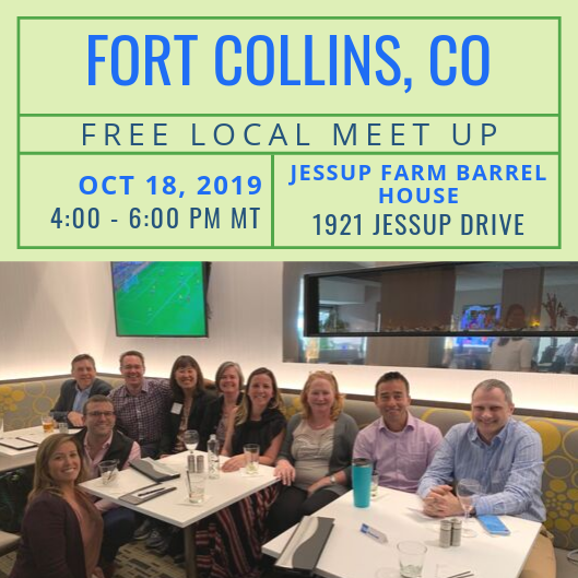 FREE Local Meet-Up: Fort Collins, CO