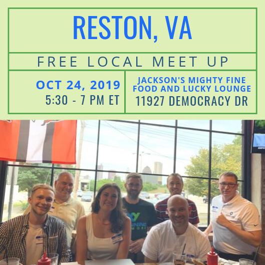 FREE Local Meet-Up: Reston, VA