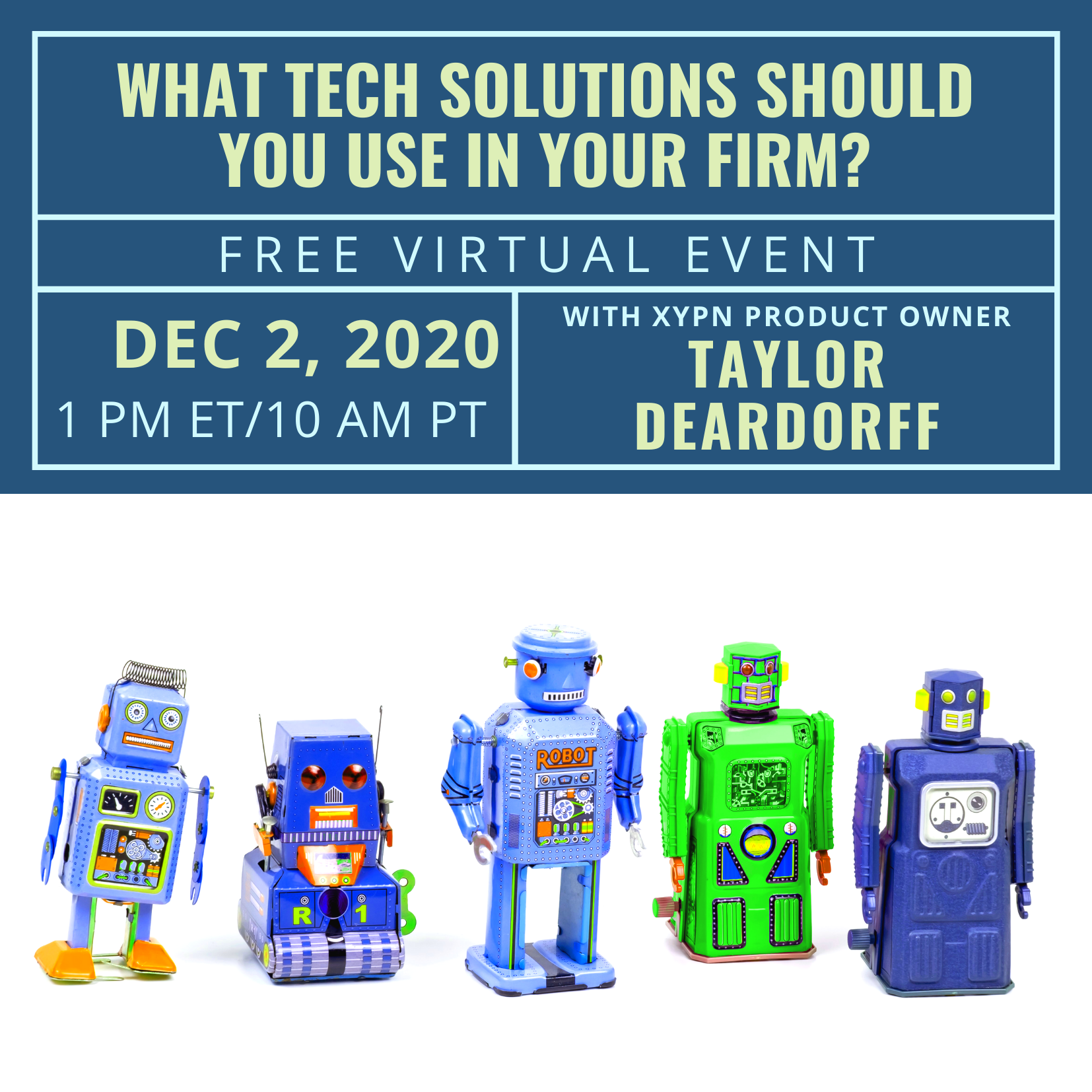 Free Virtual Event: What Tech Solutions Should You Use in Your Firm?