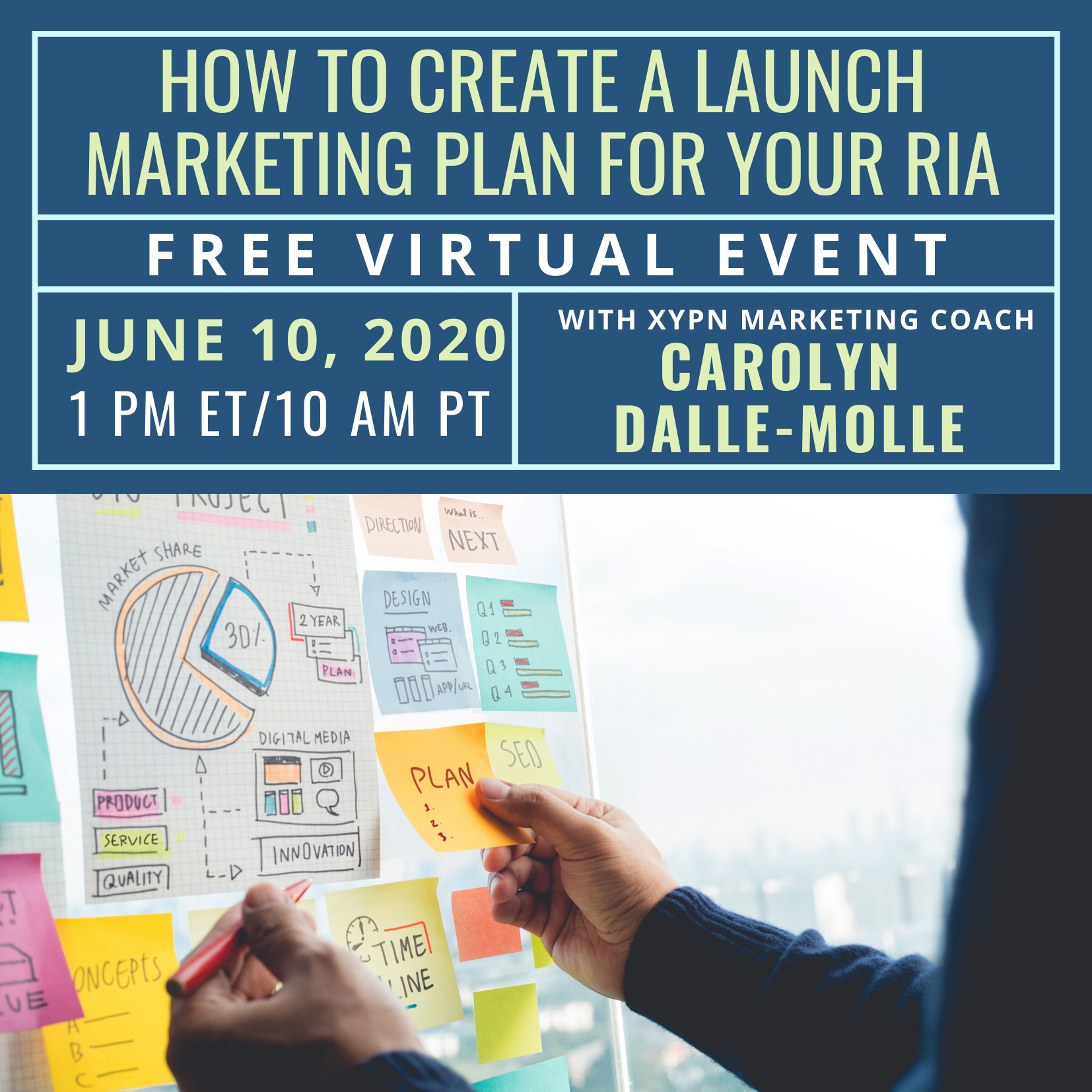 Free Virtual Event: How to Create a Launch Marketing Plan for Your RIA