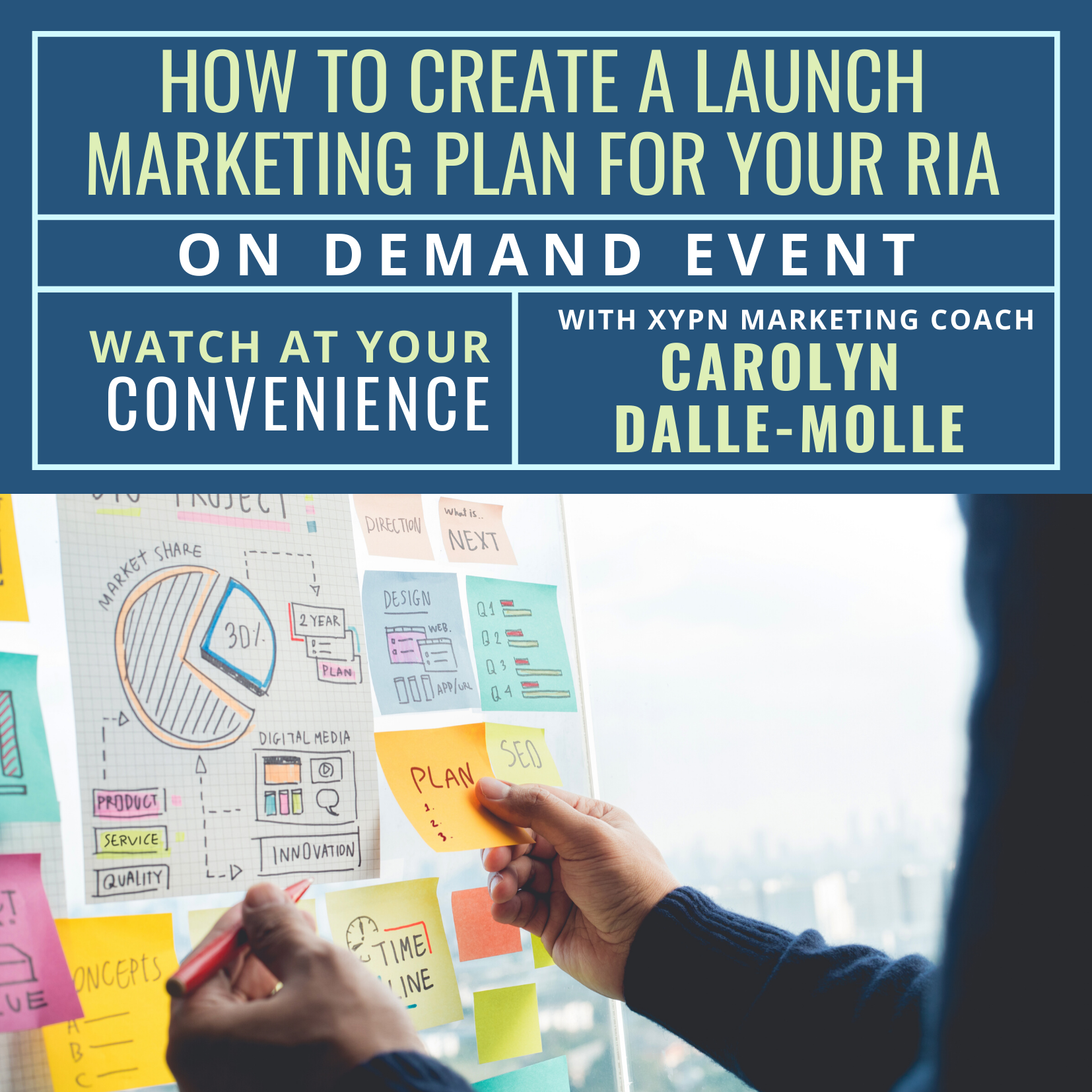 Free On-Demand Event: How to Create a Launch Marketing Plan for Your RIA