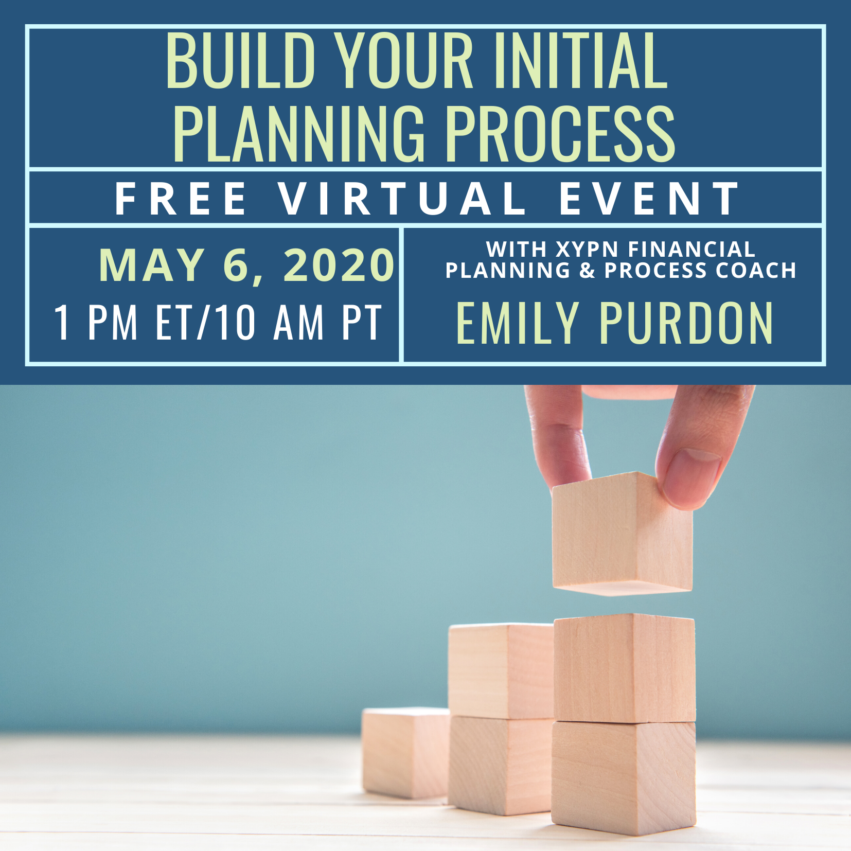 Free Virtual Event: Build Your Initial Planning Process