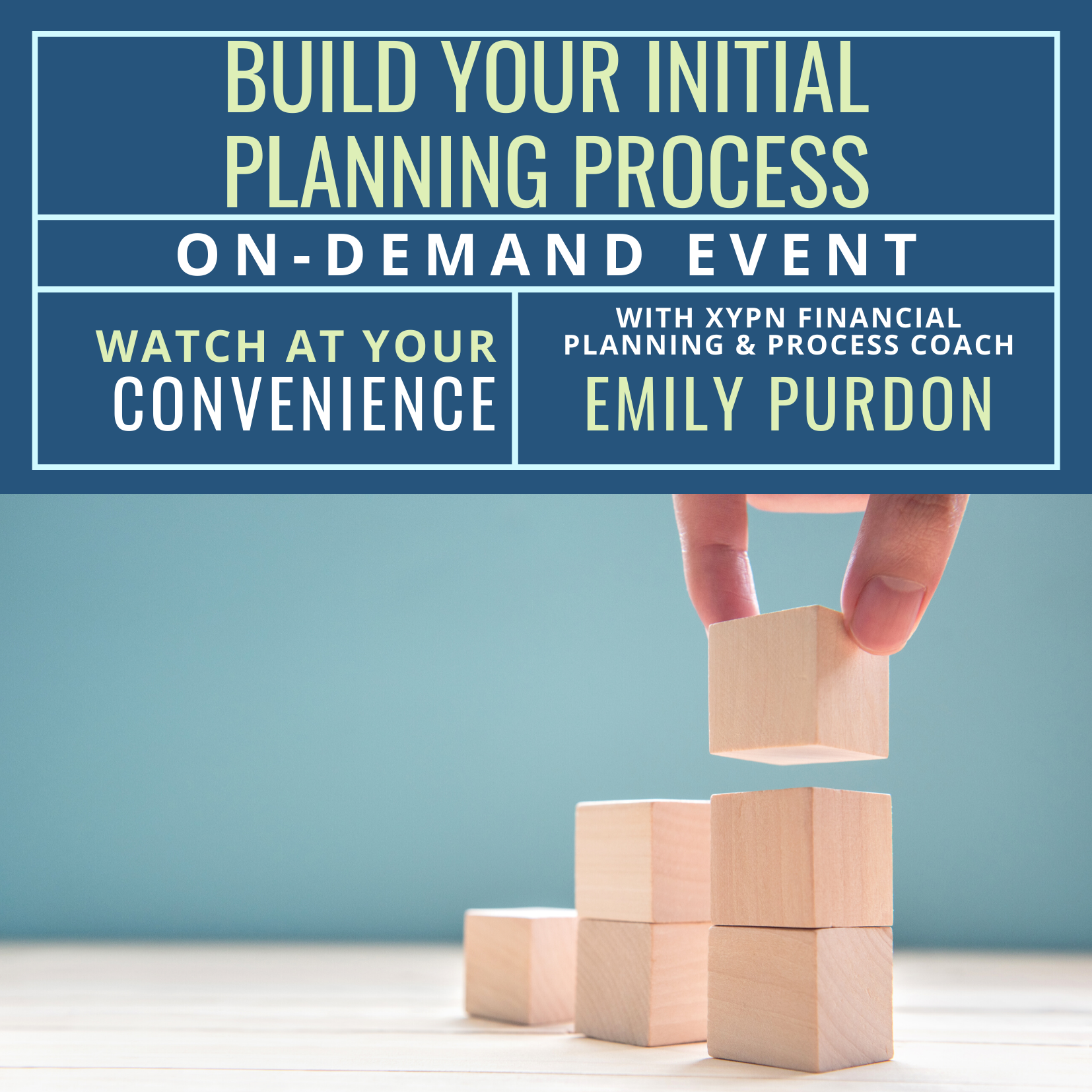 Free On-Demand Event: Building Your Initial Planning Process