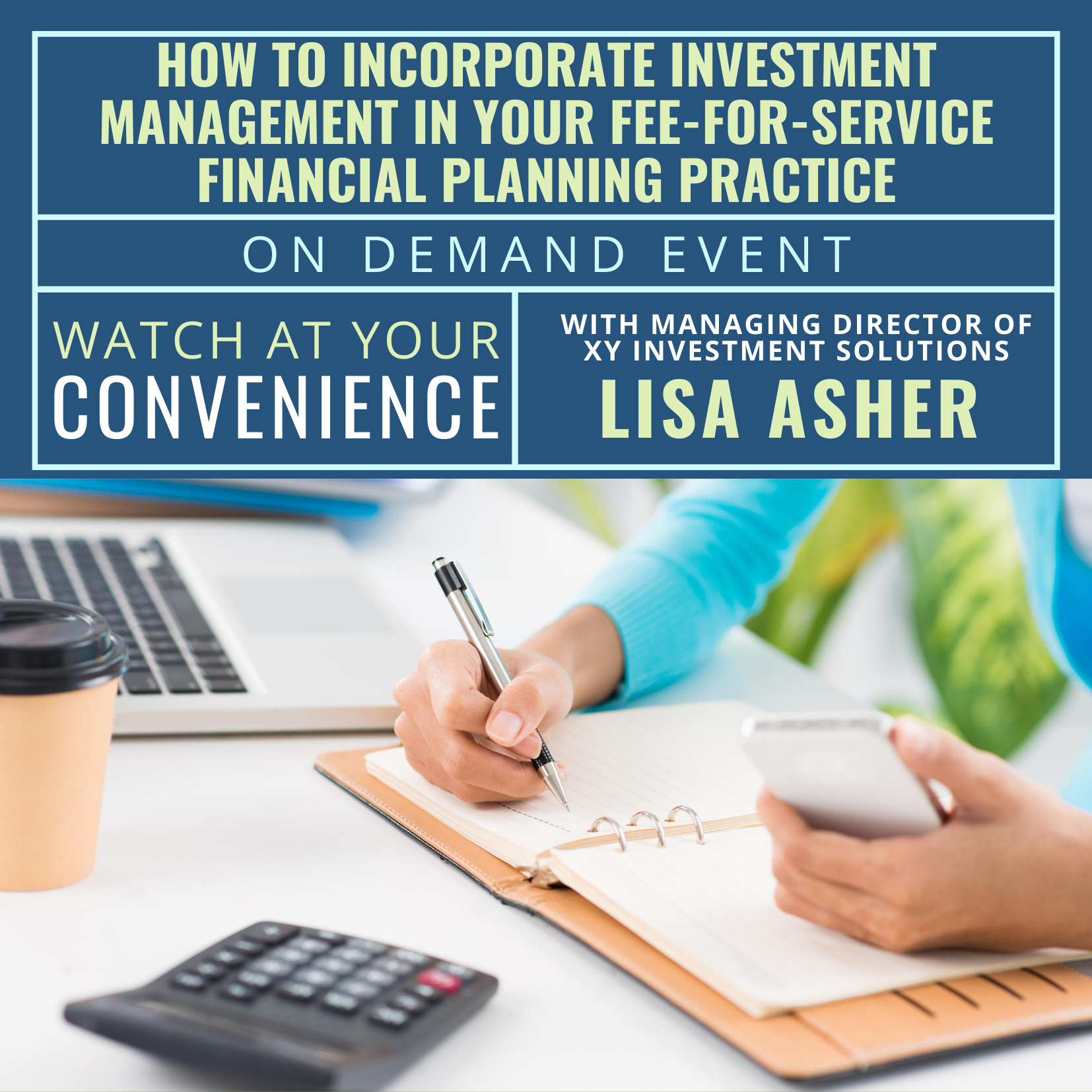How to Incorporate Investment Management in Your Fee-for-Service Financial Planning Practice