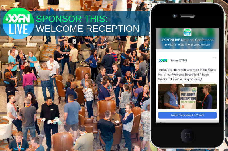 Sponsor the Welcome Reception